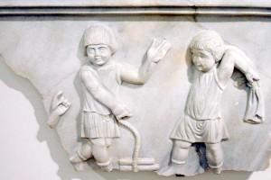 Reljef djece u igri, Konstantinopol, 5. st