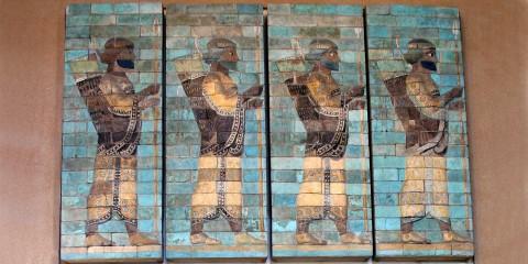 Perzijski strijelci, palaca Darija I., Suza
