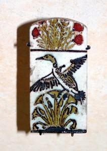 Pločica s prikazom divlje guske
