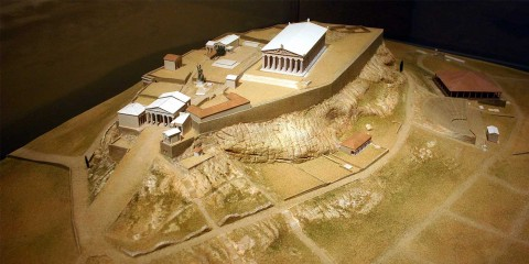 Atenska akropola, maketa