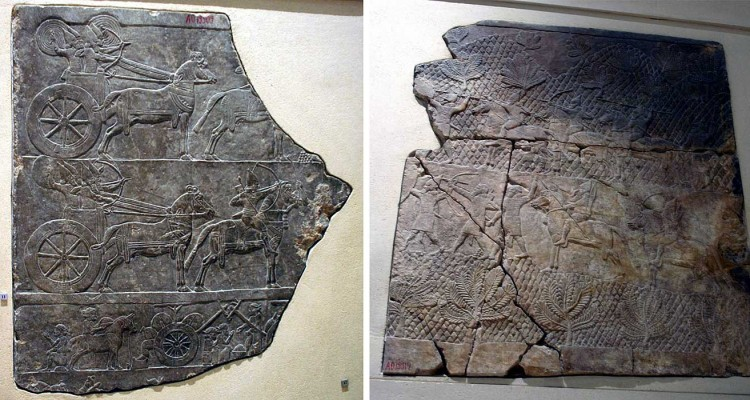 Vojni pohod na Babilon Asurbanipala, Niniva o. 645. BC